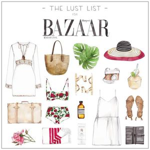 Harper's Bazaar, The Lust List, July 2015