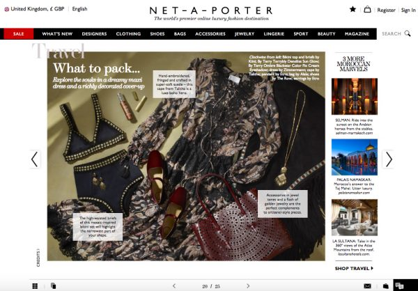 The Edit, Net-A-Porter, 28 July 2016