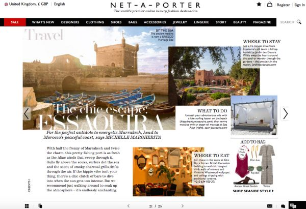 The Edit, Net-A-Porter, July 2016