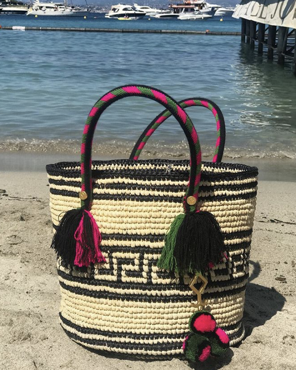 This week: Yosuzi's hand crafted Kolet tassel tote